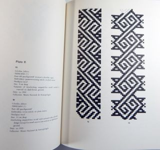 Design Motifs on Mexican Indian Textiles