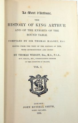La Mort d'Arthure:The History of King Arthur and of the Knights of the Round Table