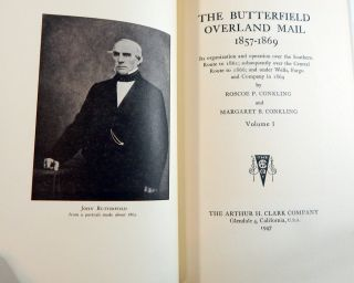 The Butterfield Overland Mail 1857-1869